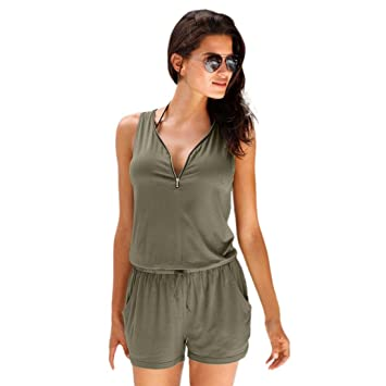 d4cd3718fe SSY Women Lady Fashion solid Rompers Jumpsuits
