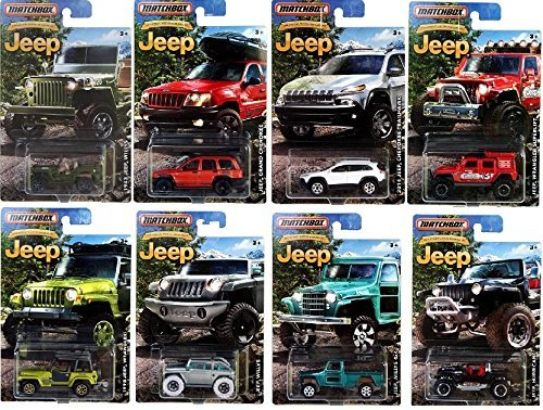 2016 Matchbox Jeep Anniversary Cars product image