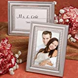 125 Matte Silver Metal Place Card / Photo Frames