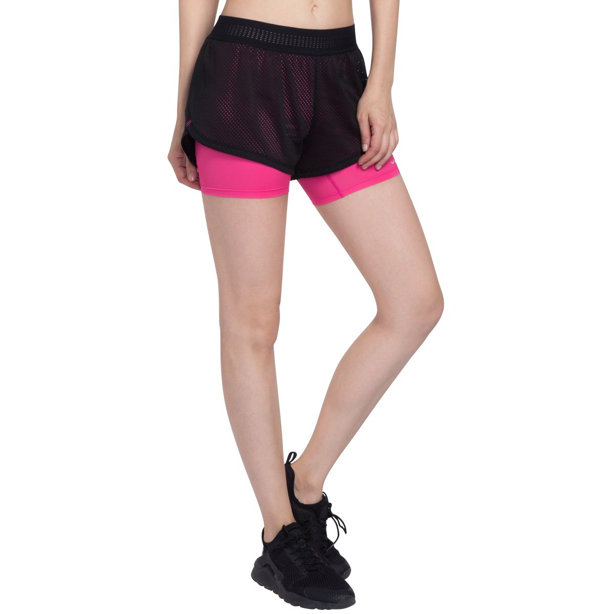 VUTRU Womens Running Shorts Mesh Double Layer Gym Fitness Workout Athletic Shorts