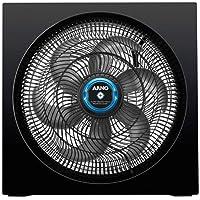 Circulador de Ar Turbo Silencio Arno Maxx Repelente Líquido Preto
