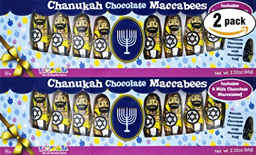 Chanukah Chocolate Macabees