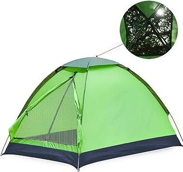 Tienda de campaña al Aire Libre 2 Personas Camping 3-4 Personas Familia Camping Doble Doble Tienda Individual Rollsnownow (Color : Verde) : Amazon.es: Juguetes y juegos