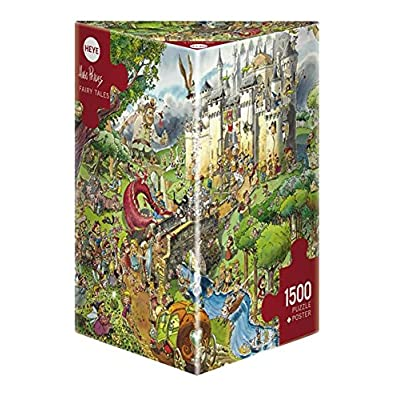 Heye Triangular Fairy Tales Prades Puzzles (1500-Piece): Toys & Games