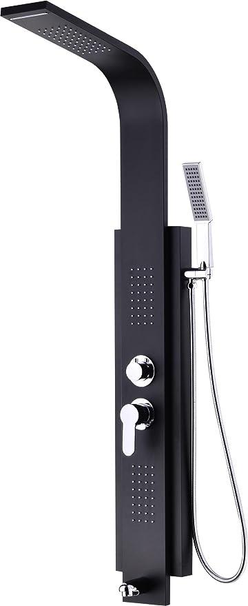 Tw 304 acero inoxidable baño mampara de ducha de masaje aerosol ...