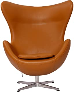mlf arne jacobsen egg chair 5 colors 100 imported italian leather u0026