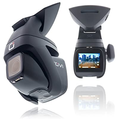 Rovi CL-6001 Magnetic Mount 1080p Full HD High Definition Panoramic Car Dash Camera Recorder with 1.5 Inch Wide Screen Wi-Fi, GPS, Loop Video Recording, Impact Detection and 360 Degree Rotation: Automotive