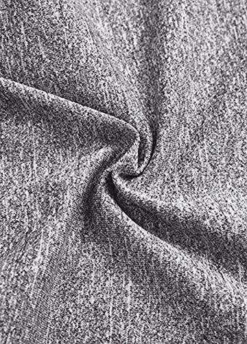 Romacci Women Sports Yoga Leggings Solid Wide Waist Sportswear Fitness Skinny Bodycon Pants Trousers by Romacci (Image #3)