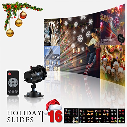 Led 16 Function Motion Christmas Lights - 6