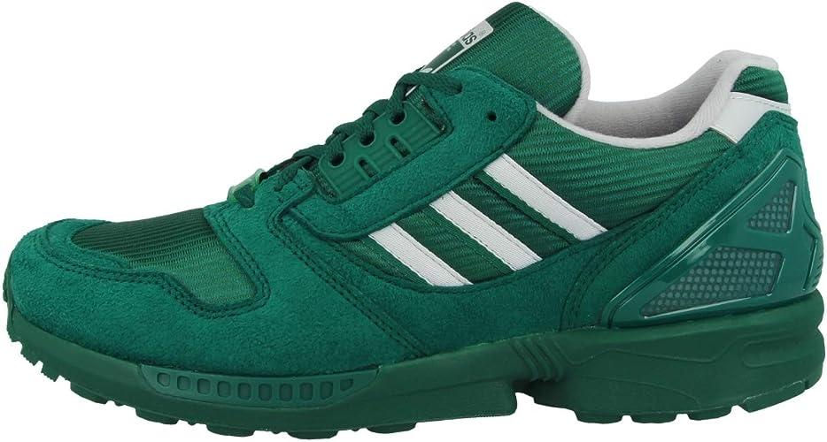 adidas Originals ZX 8000, Collegiate Green Grey Two Footwear White