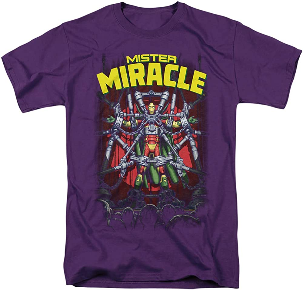 Justice League Mister Miracle Unisex Adult T Shirt for Men and Woman