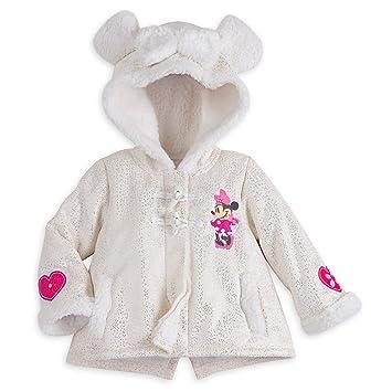 Amazon.com  Disney Minnie Mouse Holiday Fleece Jacket Baby 12-18 ... 7c855079f