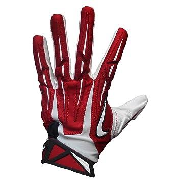 Nike Superbad 2.0 Erwachsene Empfänger Handschuhe, Rot/Weiß/Schwarz