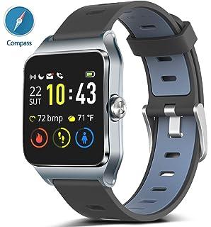 Amazon.com: FITVII GPS Smartwatch with 17 Sports Mode ...