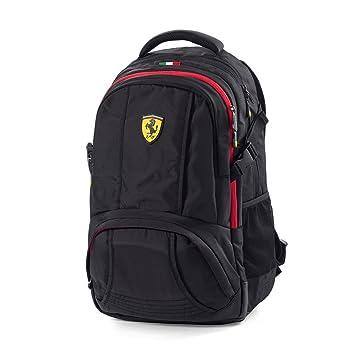 Ferrari negro portátil mochila deporte, Fórmula 1, tamaño estándar visiodirect lochnerverpackung