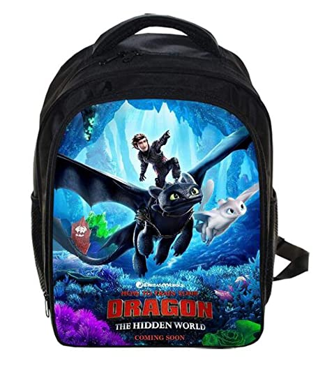 HuHu How to Train Your Dragon 3 Bolsas para niños Mochila ...