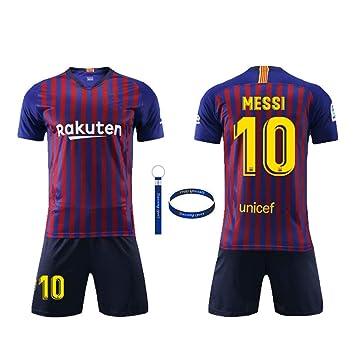 Daoseng Camiseta Jersey Futbol Barcelona 2018-2019 Traje de niños ...