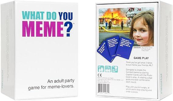 What Do You Meme Juego de Cartas: Amazon.es: Juguetes y juegos