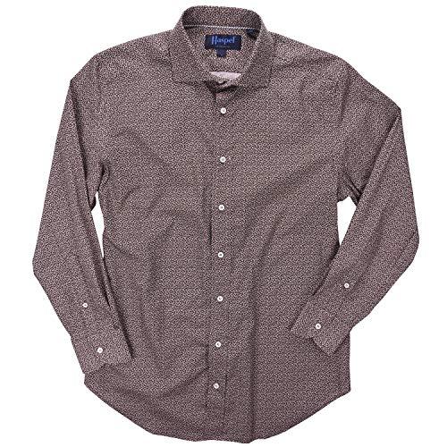 (Haspel Long Sleeve Shirt - Carroll Brown Owl Eye)
