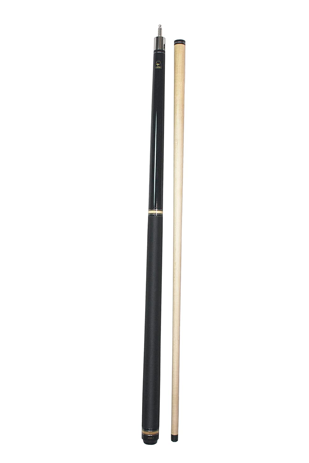 25-Ounce Jump Break Cue Stick Aska JBC Black, 3pc Cue, Jump/Break Cue ASKA BILLIARDS