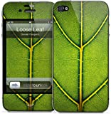 GelaSkins Protective Skin for the iPhone 4 Loose Leaf with Access to Matching Digital Wallpaper Downloads