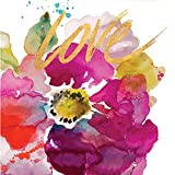 #10: Cypress Home Love Flower Foil-Accented Paper Cocktail Napkin, 20 count
