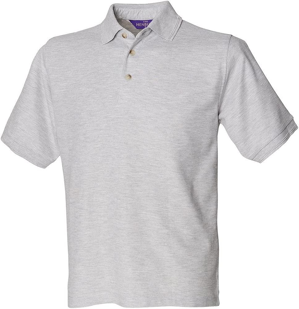 Henbury - Polo - para hombre Gris gris mediano: Amazon.es: Ropa y ...
