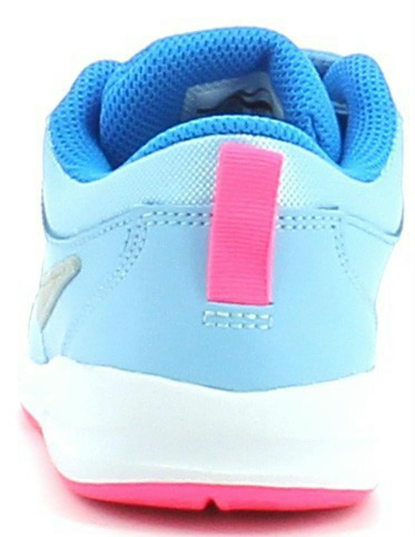 Nike Pico 4 (TDV) - Zapatos de Primeros Pasos Bebé-Niños, Color Azul (Bluecap/Metallic Silver-White-Photo Blue), Talla 27