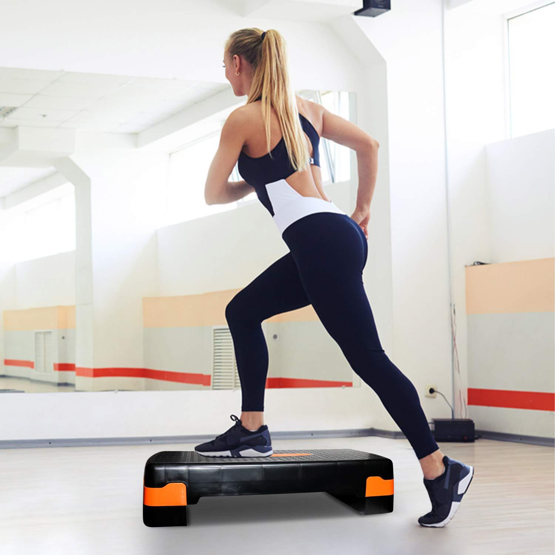 LGVSHOPPING Plataforma de Step Aerobic Fitness Stepper músculos ...