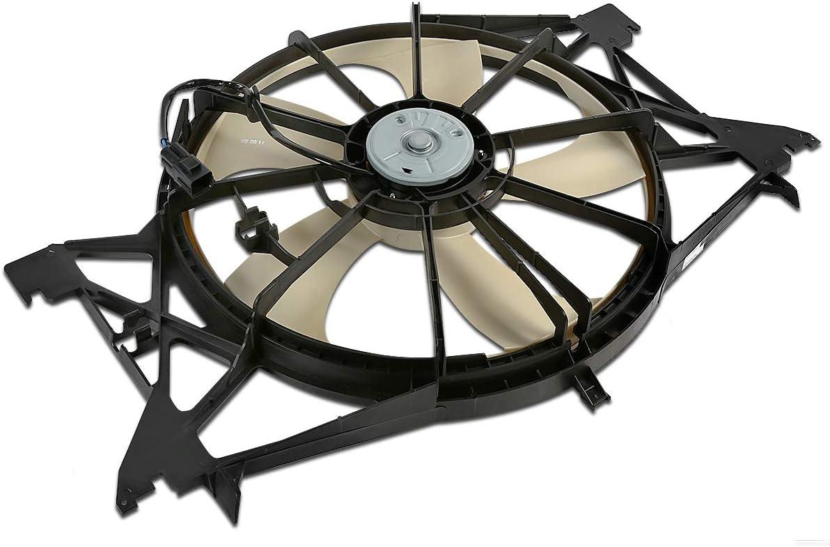 CH3115166 OE Style Radiator Cooling Fan Assembly for Ram Truck 1500 2500 3500 3.0L 3.6L 4.7L 5.7L 6.4L 6.7L 11-18