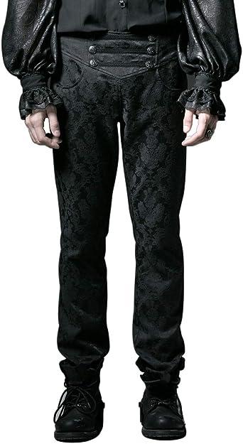 Punk Rave - Pantalones de algodón para Hombre, diseño gótico ...