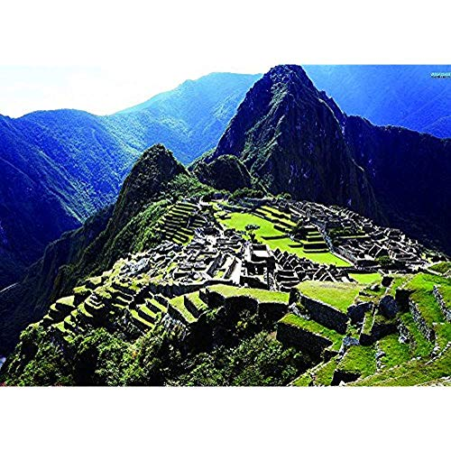 Diuangfoong Canvas Art Print The Historic Sanctuary of Machu Picchu 12x16 Inches Unframed