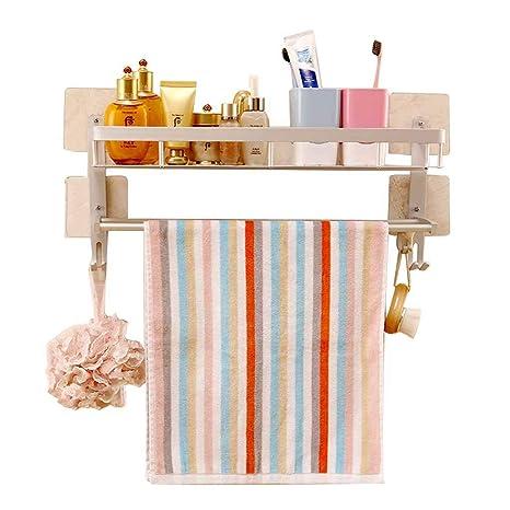 perchero de baño estante de almacenamiento para montaje en ...