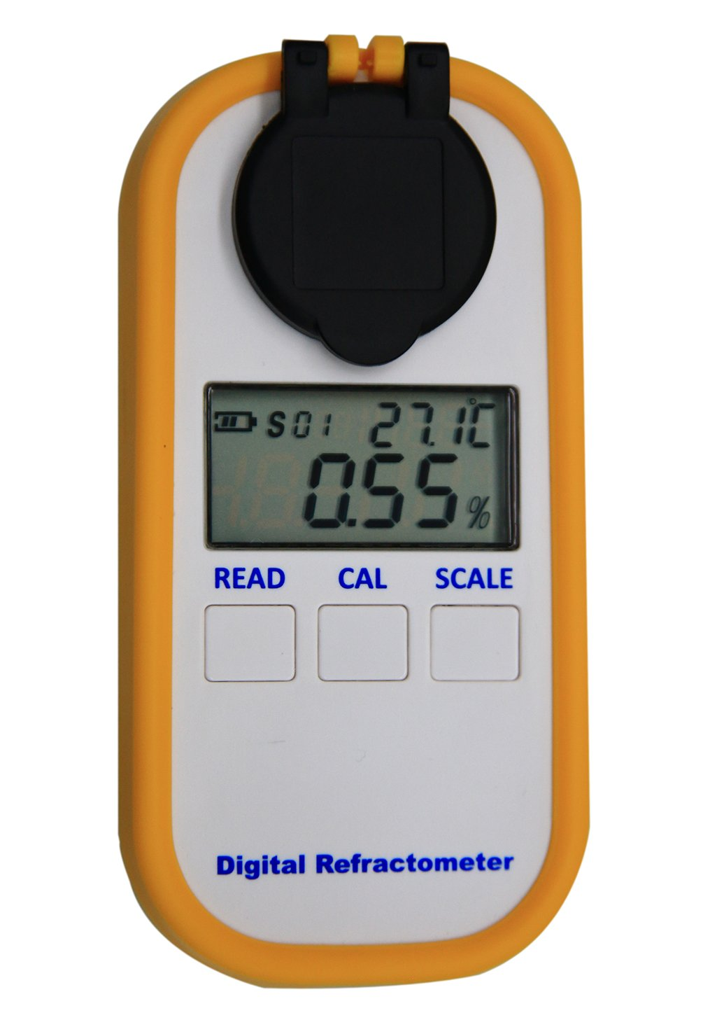 Digital Coffee Densitometer, Coffee Concentration Refractometer, Sugar Drinks Density Meter, Portable Coffee Brix TDS Meter