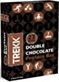 Trekk Double Chocolate Protein Bar - 65 grams, Pack of 6-High Protein+High Fiber