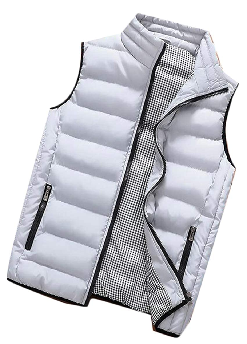 Xswsy XG Mens Quilted Vest Lightweight Padded Sleeveless Jacket