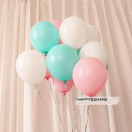 Pink And Mint Green Baby Shower Decorations  from images-na.ssl-images-amazon.com