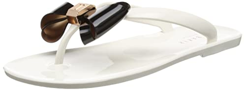 d6bb83b99f74c0 Ted Baker Womens Cream Black RAFEEK Flip Flops-UK 3  Amazon.ca ...