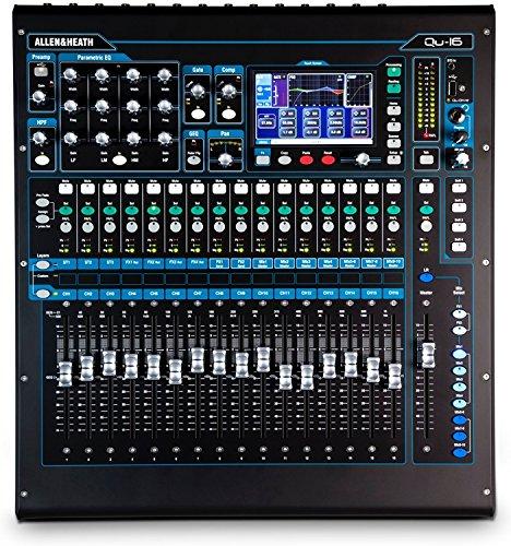 (Allen & Heath QU-16C Rack Mountable Compact Digital Mixer, Chrome Edition)