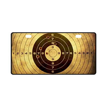 Amazon Com Interestprint Funny Target With Bullet Holes