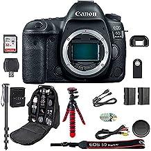 Canon EOS 5D Mark IV Digital SLR Camera Bundle (Body Only) + Professional Accessory Bundle (15 items) International Version