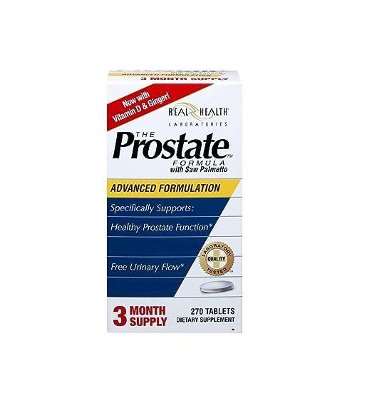 los mejores complementos alimenticios para la próstata