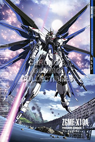 CGC Huge Poster - Gundam Seed - ZGMF Z10A Freedom - GUNS32 (24