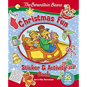 The Berenstain Bears Christmas Fun Sticker and Activity Book (Berenstain Bears/Living Lights)