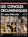 Les Conciles oecuméniques par Église catholique