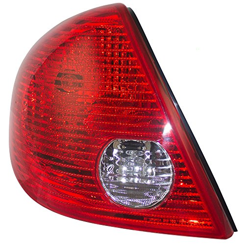 (Drivers Taillight Tail Lamp Replacement for Pontiac G6 Sedan 15242809 GM2800201 AutoAndArt)
