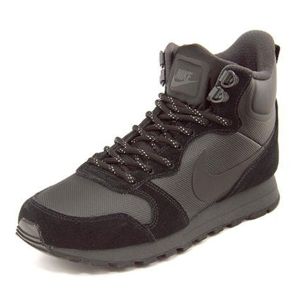 Nike Women's MD Runner 2 Mid Prem Black / Black - Anthracite 845059-001 (8.5)