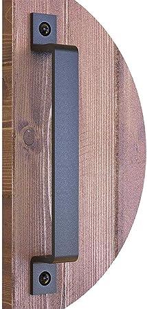 PURATEN - Tirador para puerta de armario, 19 cm, liso, de acero inoxidable, para puertas correderas, garajes, cajones: Amazon.es: Hogar