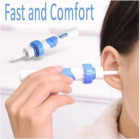 Eléctrico Vacío limpiador de oídos oído cera seguro Remover ...