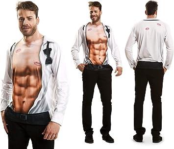 Disfraz Camiseta Sexy Original de Carnaval para Hombre M de ...